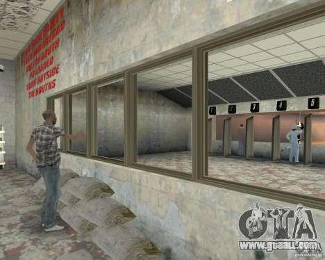 A bustling shop Ammu-Nation v3 (Final) for GTA San Andreas forth screenshot