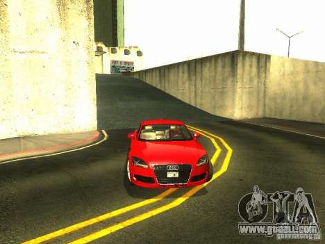 Audi TT 2009 v2.0 for GTA San Andreas upper view