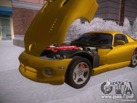 Dodge Viper 1996 for GTA San Andreas right view