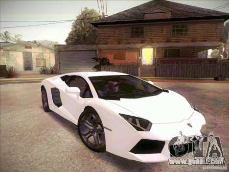 Lamborghini Aventador LP700-4 for GTA San Andreas right view