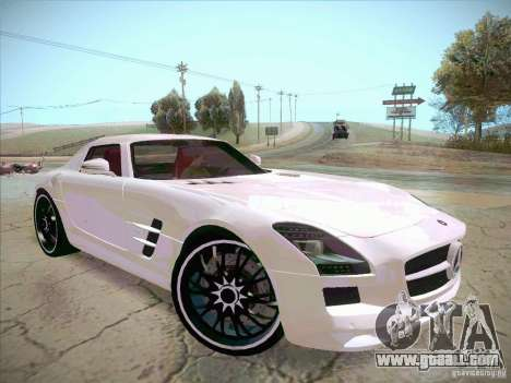 Mercedes-Benz SLS AMG 2010 Hamann Design for GTA San Andreas right view