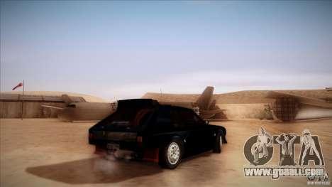 Lancia Delta S4 for GTA San Andreas left view