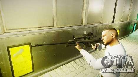 Barrett 98B (sniper) for GTA 4 second screenshot
