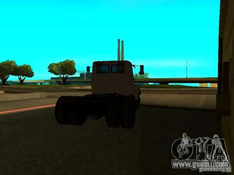 GAZ 3309 tractor for GTA San Andreas back left view