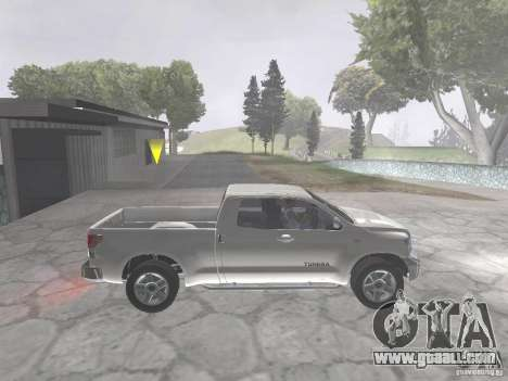 Toyota Tundra for GTA San Andreas right view