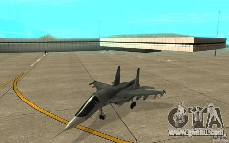 The Su-34 for GTA San Andreas left view