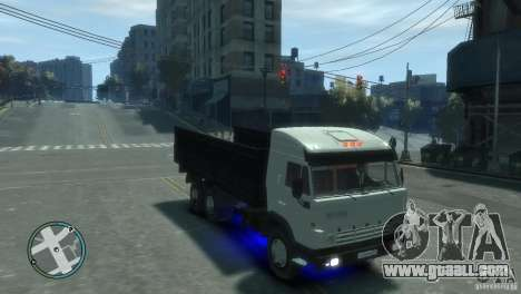 KAMAZ 53212 for GTA 4 right view