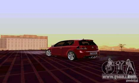 Volkswagen Golf GTI 2011 for GTA San Andreas left view