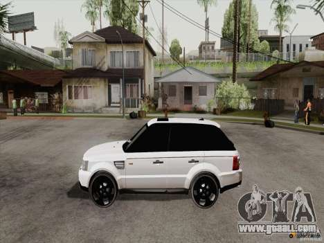 Range Rover Tuning for GTA San Andreas right view