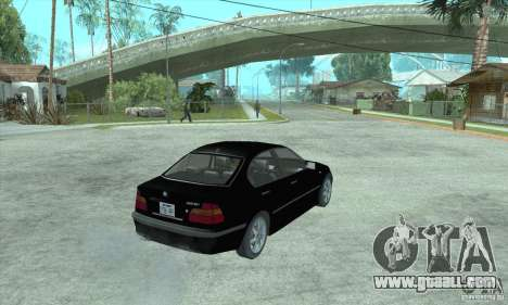 BMW 325i for GTA San Andreas left view