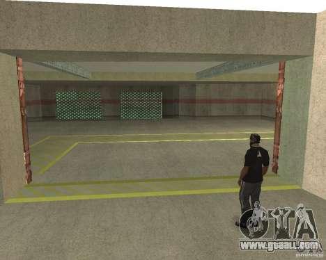 Pneumatic gate in area 69 for GTA San Andreas fifth screenshot