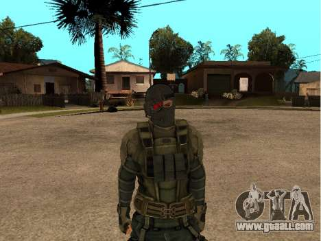 The skin army engineer for GTA San Andreas third screenshot