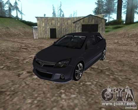 Vauxhall Astra VXR for GTA San Andreas