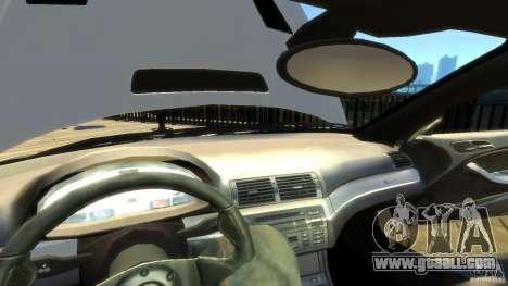 BMW E46 M3 GTR Sport for GTA 4 bottom view