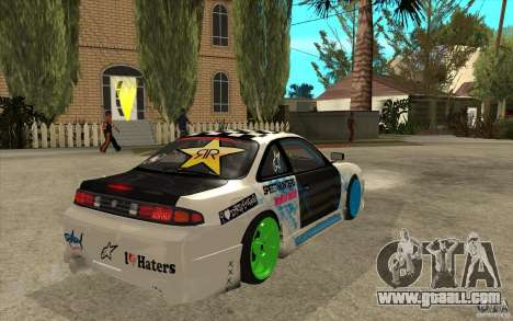 Nissan Silvia S14 Drift Bomb for GTA San Andreas right view
