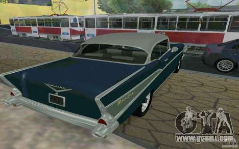 Chevrolet Bel Air 1957 for GTA San Andreas right view