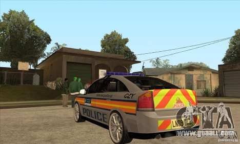 Opel Vectra 2009 Metropolitan Police for GTA San Andreas back left view