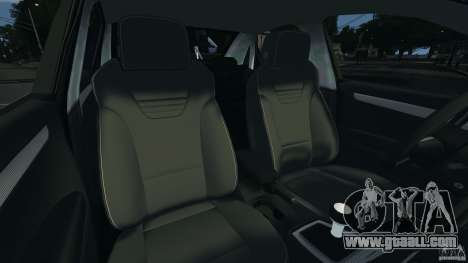 Audi RS4 EmreAKIN Edition for GTA 4 inner view