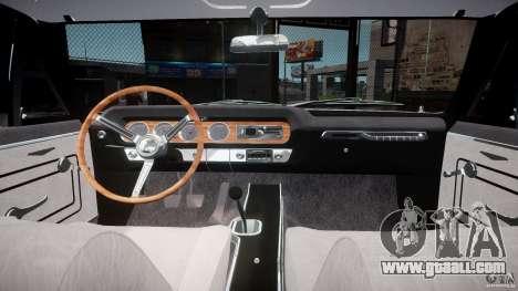 Pontiac GTO 1965 v3.0 for GTA 4 back view