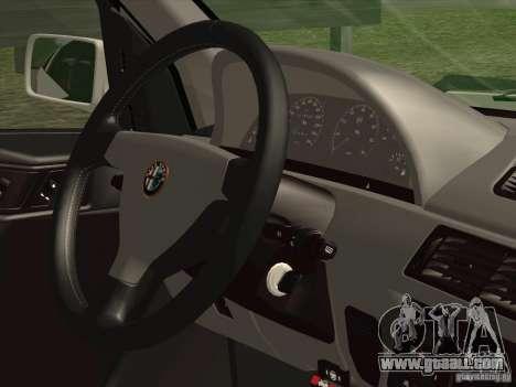 Alfa Romeo 155 1992 for GTA San Andreas side view