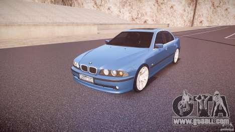 BMW 530I E39 e63 white wheels for GTA 4