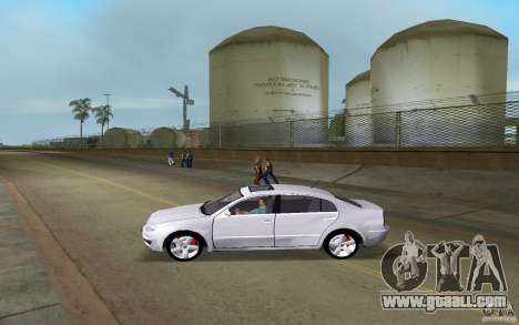 Skoda Superb 2.2 v.4 final for GTA Vice City left view