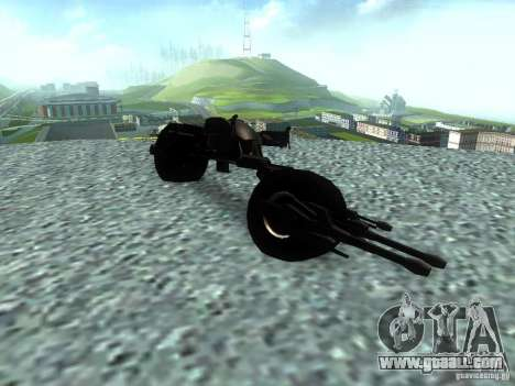 Batpod for GTA San Andreas right view