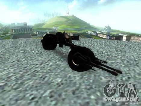 Batpod for GTA San Andreas right view