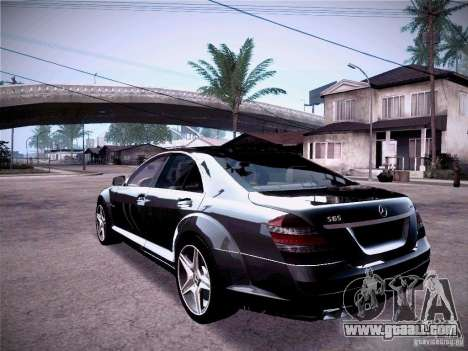 Mercedes-Benz S65 AMG 2011 for GTA San Andreas left view
