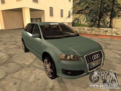 Audi S3 Sportback 2007 for GTA San Andreas