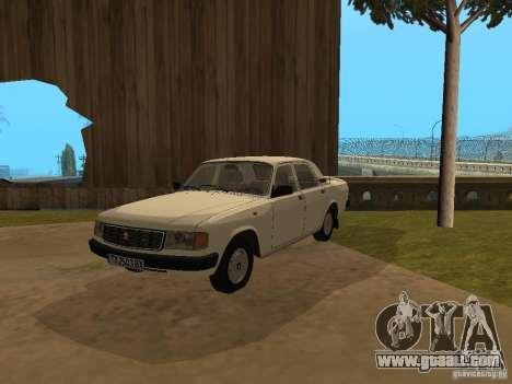 Volga GAZ 31029 for GTA San Andreas