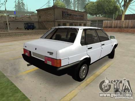 VAZ 21099 Drain for GTA San Andreas back left view