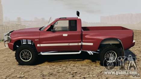 Dodge Ram 2500 Army 1994 v1.1 for GTA 4 left view