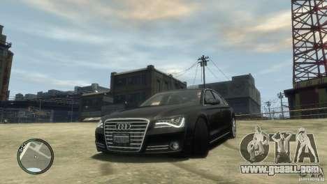 Audi A8 V8 FSI for GTA 4
