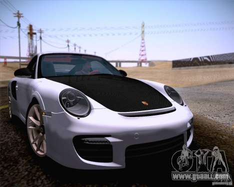 Porsche 911 GT2 RS 2012 for GTA San Andreas