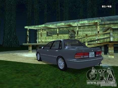 Mitsubishi Galant VR-4 1989 for GTA San Andreas back left view