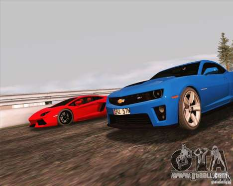 NFS The Run ENBSeries for SAMP for GTA San Andreas fifth screenshot