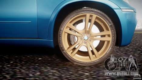 BMW X5 M-Power wheels V-spoke for GTA 4 bottom view