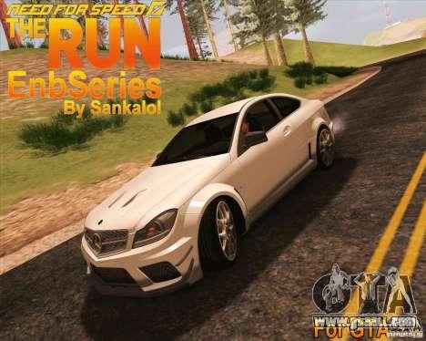 NFS The Run ENBSeries for SAMP for GTA San Andreas