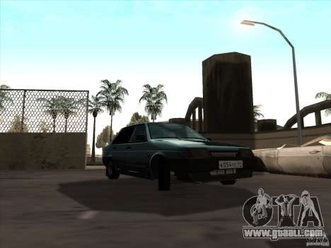 Vaz 21099 drain for GTA San Andreas right view