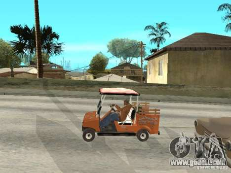 Golfcart caddy for GTA San Andreas right view