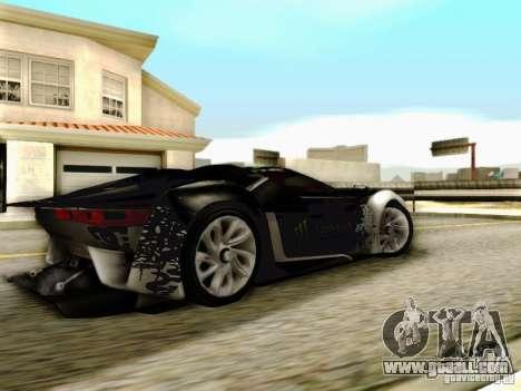 Citroen GT Gymkhana for GTA San Andreas back left view