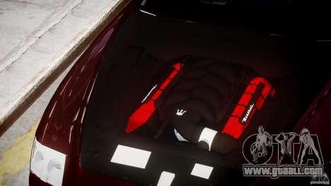 Maserati Quattroporte V for GTA 4 side view