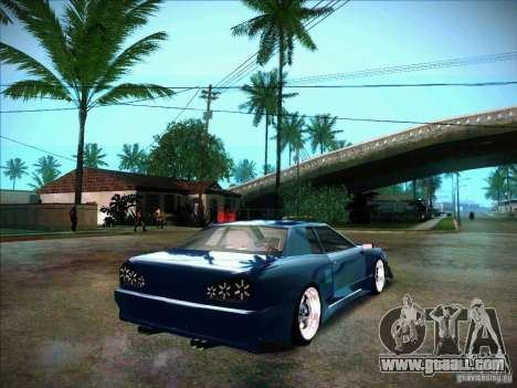 Elegy JDM Tuned for GTA San Andreas back left view