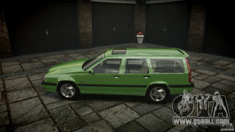 Volvo 850 Turbo 1996 for GTA 4 left view