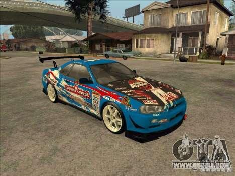 Nissan Skyline GT-R R34 Super Autobacs for GTA San Andreas left view