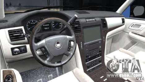 Cadillac Escalade [Beta] for GTA 4 right view
