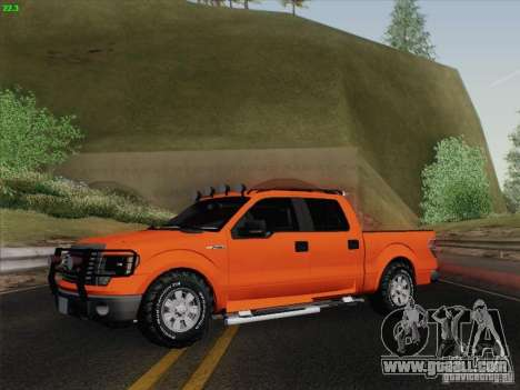 Ford F-150 for GTA San Andreas side view