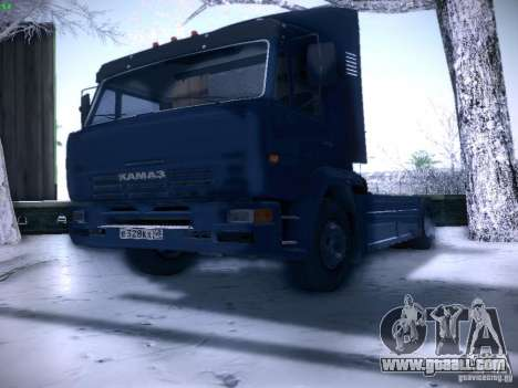 KAMAZ 5460 Sport for GTA San Andreas right view