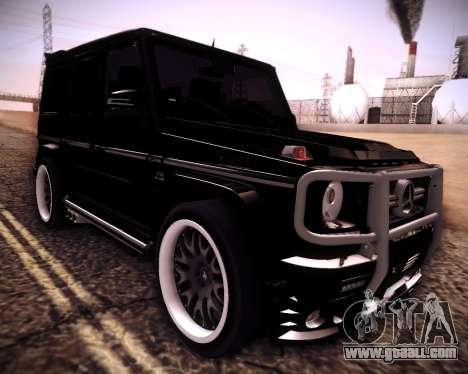 Mercedes-Benz G65 AMG 2013 Hamann for GTA San Andreas